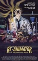 Re-Animator HP Lovecraft Wall Poster