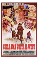 Once Upon a Time in the West Spanish Wall Poster