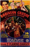 Robinson Crusoe of Clipper Island Episode 2 Framed Print