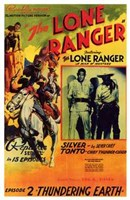 The Lone Ranger - Episode 2 Framed Print