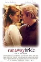 Runaway Bride Framed Print