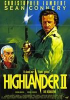 Highlander 2: the Quickening Wall Poster