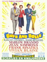 Guys and Dolls Samuel Goldwyn Fine Art Print
