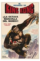 King Kong Escapes Wall Poster