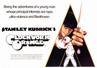 Clockwork Orange Principle Interests Wall Poster