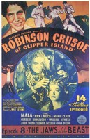 Robinson Crusoe of Clipper Island Episode 8 Framed Print