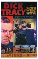 Dick Tracy Comic: Episode 5 Wall Poster