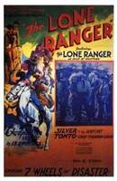 The Lone Ranger - Episode 7 Framed Print