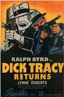 Dick Tracy Returns Wall Poster