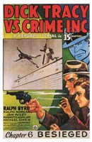 Dick Tracy Vs Crime Inc Chapter 6 Wall Poster