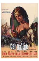 Cat Ballou Jane Fonda Wall Poster