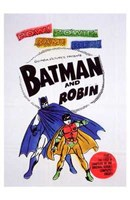 Batman and Robin Colorful Vintage Wall Poster