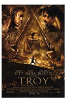 Troy Battle Wall Poster