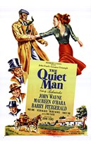 The Quiet Man John Wayne & Cast Fine Art Print