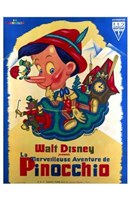 Pinocchio French Framed Print
