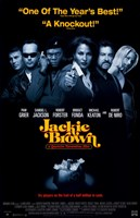 Jackie Brown Cast Framed Print
