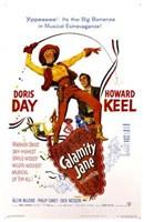 Calamity Jane Framed Print