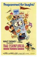 The Computer Wore Tennis Shoes Wall Poster
