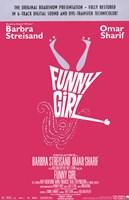 Funny Girl Barbra Streisand Framed Print