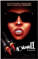 Howling 2: Your Sister is a Werewolf Framed Print