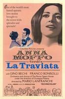 La Traviata Gino Bechi Wall Poster