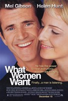 What Women Want Wall Poster