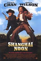 Shanghai Noon Jackie Chan Wall Poster