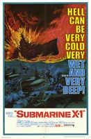 Submarine X-1 Wall Poster