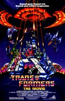 Transformers: The Movie - style A Framed Print