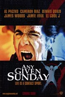 Any Given Sunday Wall Poster