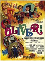 Oliver Lionel Bart Wall Poster