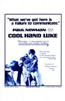 Cool Hand Luke Failure to Communicate Wall Poster