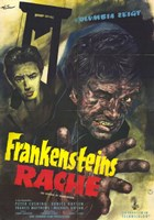 The Revenge of Frankenstein Wall Poster