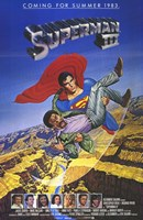Superman 3 Cast Wall Poster