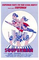 Souperman Wall Poster