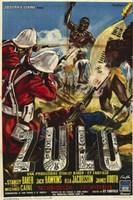 Zulu Italian Framed Print