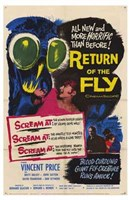 Return of the Fly Wall Poster
