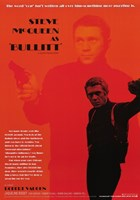 Steve McQueen as Bullitt Framed Print