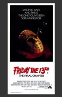 Friday the 13Th Part 4 --The Final Chapter Wall Poster