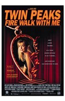 Twin Peaks Fire Walk with Me Heart Locket Wall Poster