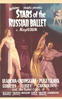 Stars of the Russian Ballet Wall Poster