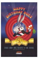 Amc Theatres Bugs Bunny's 50Th Framed Print