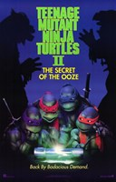 Teenage Mutant Ninja Turtles 2 Fine Art Print