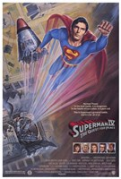 Superman 4: the Quest for Peace Movie Wall Poster