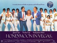 Honeymoon in Vegas Wall Poster