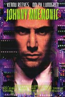 Johnny Mnemonic Wall Poster