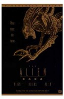Alien Saga  the (Video Poster) Wall Poster