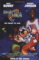 Space Jam - Michael Jordan Wall Poster