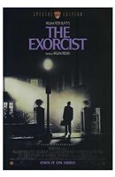 The Exorcist Purple Wall Poster