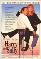 When Harry Met Sally - German (couple sitting) Wall Poster